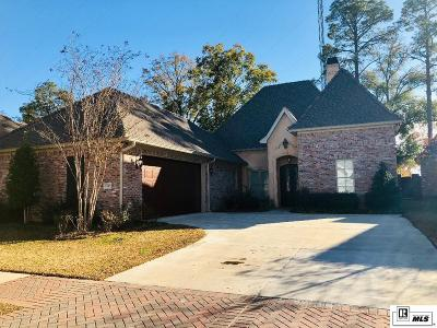 Monroe Single Family Home For Sale: 1505 Toulouse Drive