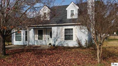 West Monroe Single Family Home For Sale: 110 Sonoma Circle