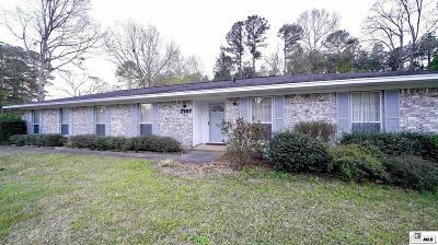 Ruston Single Family Home For Sale: 2907 Lafourche Avenue