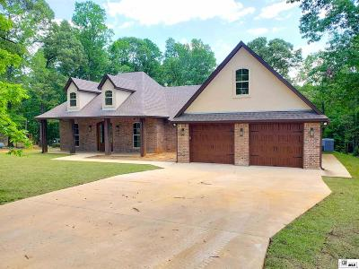 West Monroe Single Family Home For Sale: 3092 Britton Road