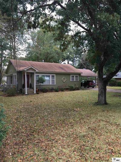 West Monroe Single Family Home New Listing: 2607 N 8th Street