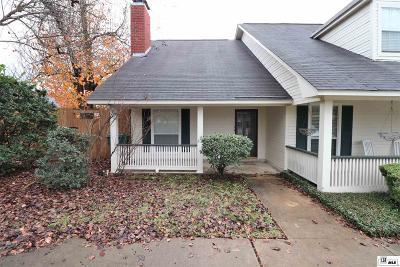 Condo/Townhouse For Sale: 1703 Ridgemar Circle #A