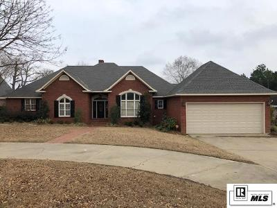 West Monroe Single Family Home For Sale: 223 Winterpark Drive