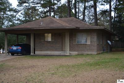 Ruston Single Family Home For Sale: 1910 Lexington Street