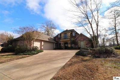 West Monroe Single Family Home Active-Contingent 72 Hrs: 443 Fiddlers Creek Drive