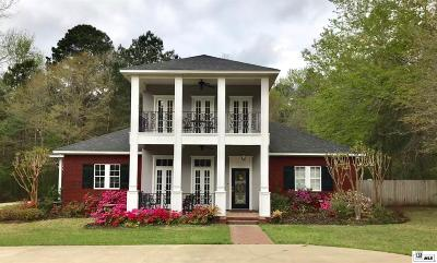 Ruston Single Family Home For Sale: 112 Deerfield Drive