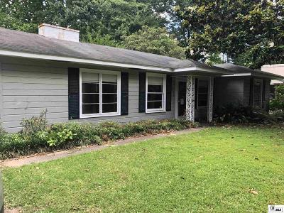 Monroe Single Family Home For Sale: 1617 Milton Street