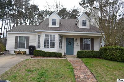Ruston Single Family Home Back On Market: 3701 High Pointe Drive
