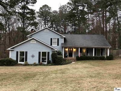 Ruston Single Family Home For Sale: 1007 Hunt Lane