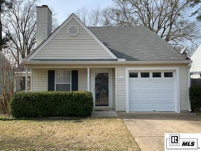 Ruston Single Family Home Pending Continue To Show: 2409 Misty Lane