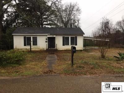 Lincoln Parish Single Family Home Active-Pending: 100 Myrtle Street