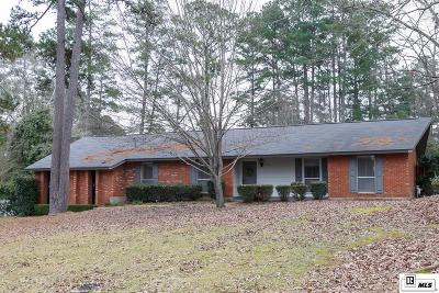 Ruston Single Family Home For Sale: 2104 Greenbriar Drive