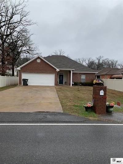 West Monroe Single Family Home For Sale: 1626 Wellerman Road