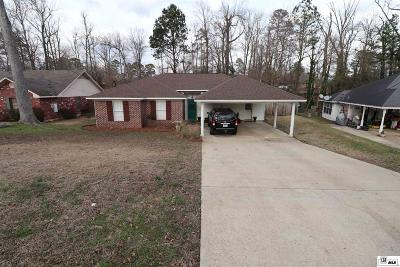 West Monroe Single Family Home Active-Pending: 113 Hardwood Drive