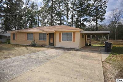 Grambling Single Family Home Active-Pending: 805 Rwe Jones Drive