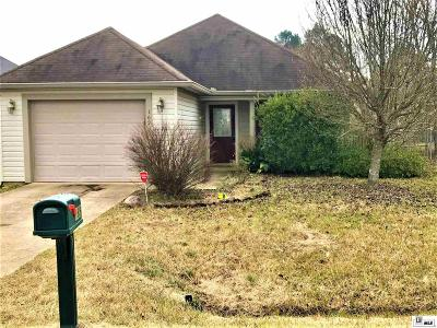 West Monroe Single Family Home Active-Pending: 169 Price Drive