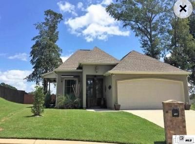 West Monroe Single Family Home For Sale: 128 Temecula Drive