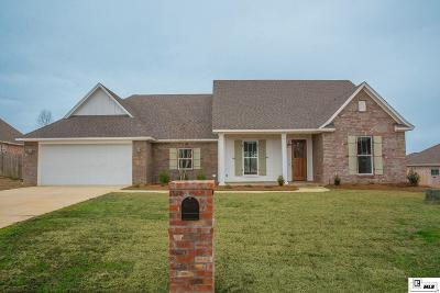 West Monroe Single Family Home Active-Pending: 105 Harvest Oaks Circle