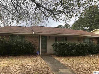 Ruston Single Family Home For Sale: 1801 Nancy Drive