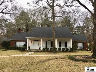 West Monroe Single Family Home Active-Pending: 126 Lemont Drive