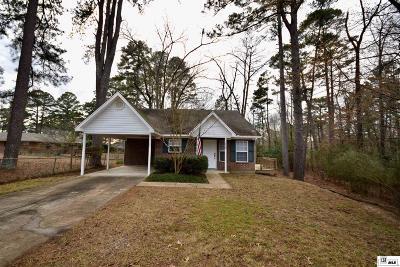 Lincoln Parish Single Family Home Active-Pending: 318 University Street