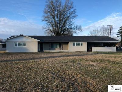 West Monroe Single Family Home For Sale: 500 McCormick Road
