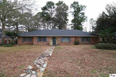 West Monroe Single Family Home For Sale: 105 Tupawek Drive