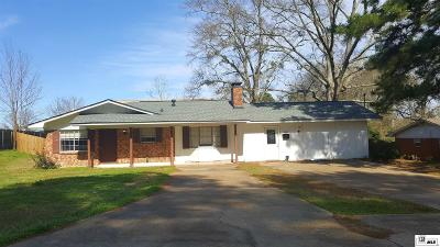 Ruston Single Family Home For Sale: 1505 Morgan Street