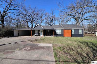 West Monroe Single Family Home For Sale: 1516 Wellerman Road
