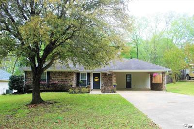 West Monroe Single Family Home For Sale: 109 Fawn Circle
