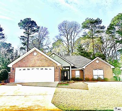 West Monroe Single Family Home Active-Pending: 118 Leupold Drive