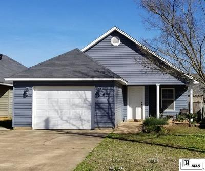 West Monroe Single Family Home New Listing: 511 West Heights Drive