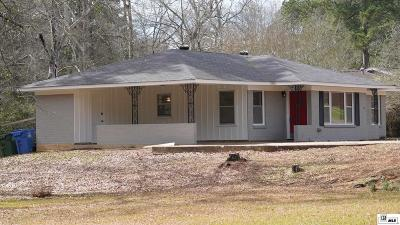 Ruston Single Family Home New Listing: 1302 E Mississippi Avenue