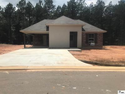 West Monroe Single Family Home For Sale: 130 Loblolly Lane