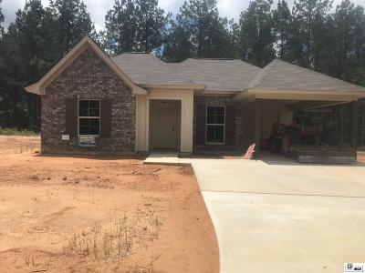 West Monroe Single Family Home For Sale: 126 Loblolly Lane