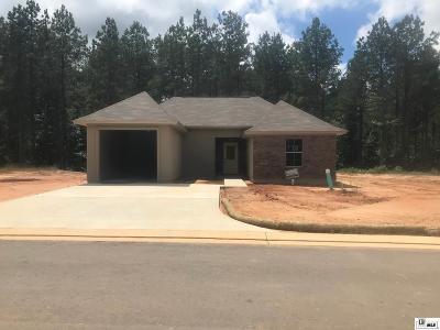 West Monroe Single Family Home For Sale: 128 Loblolly Lane