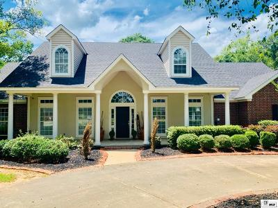 Monroe Single Family Home For Sale: 1403 Frenchmans Bend Road