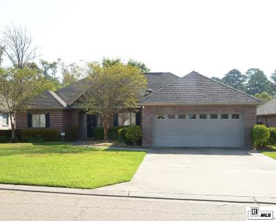West Monroe Single Family Home For Sale: 103 Watson Circle