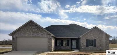 West Monroe Single Family Home For Sale: 366 Sangria Drive