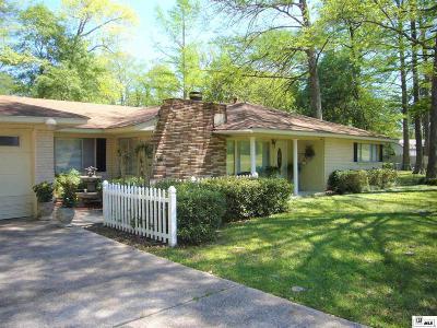 West Monroe Single Family Home For Sale: 306 Arkansas Road