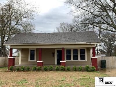 West Monroe Single Family Home Pending Continue To Show: 1805 Trenton Street