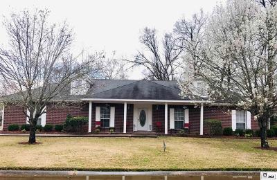 Monroe Single Family Home For Sale: 3700 Tilford Circle