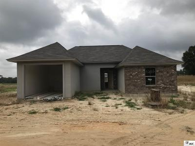 Choudrant Single Family Home Pending Continue To Show: 1255 Highway 820