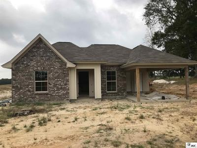 Choudrant Single Family Home For Sale: 1261 Highway 820
