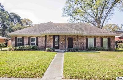 Monroe Single Family Home For Sale: 807 Jamar Drive