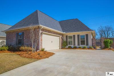 Single Family Home For Sale: 2800 Carondelet Lane