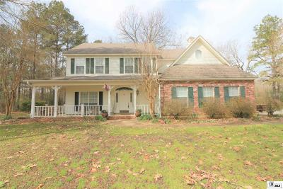 Single Family Home For Sale: 2525 Stubbs Vinson Road