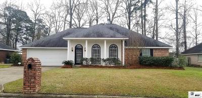 West Monroe Single Family Home Pending Continue To Show: 109 Stephanie Drive