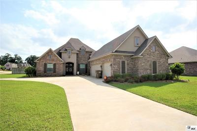 Monroe Single Family Home For Sale: 501 East Frenchman's Bend Road