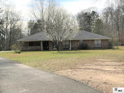 Single Family Home For Sale: 1961 Cypress School Road